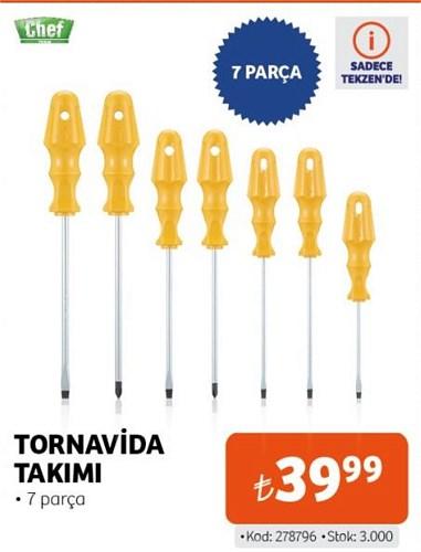 Chef Tornavida Takımı 7 Parça image