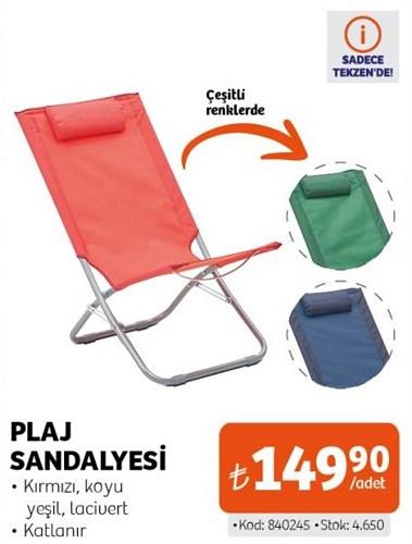 Plaj Sandalyesi image