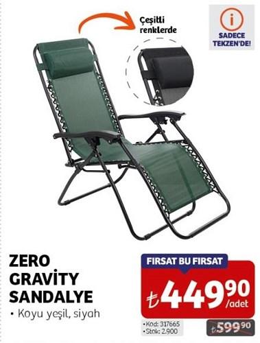 Zero Gravity Sandalye image