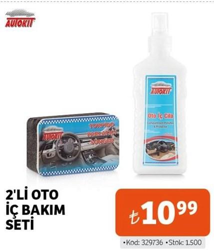 Autokit 2'li Oto İç Bakım Seti image