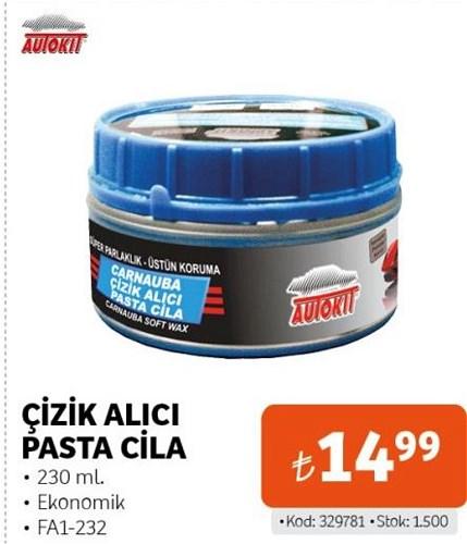 Autokit Çizik Alıcı Pasta Cila 230 ml FA1-232 image