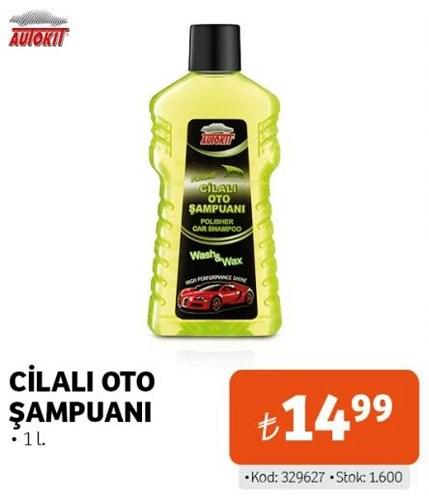 Autokit Cilalı Oto Şampuanı 1 l image