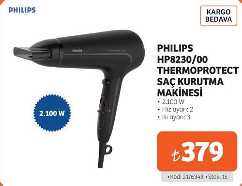 Philips HP8230/00 Thermoprotect Saç Kurutma Makinesi 2.100 W image
