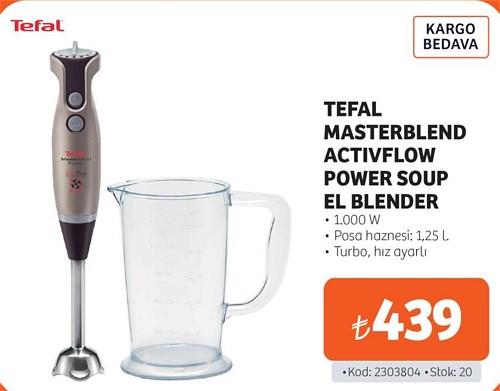 Tefal Masterblend Activflow Power Soup El Blender 1.000 W image