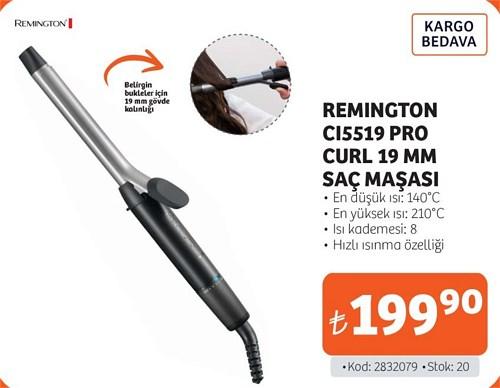 Remington CI5519 Pro Curl 19 mm Saç Maşası image