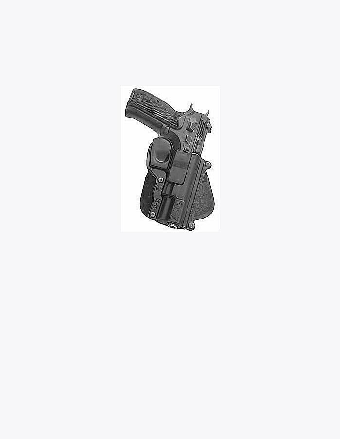 Fobus Belt Belt Holster Right Hand Black CZ75 75DBH