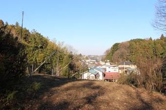 トトロの森4号地付近から見える景色