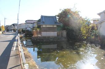 永源寺の弁天池