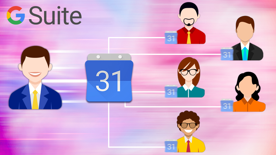Share Google Calendar with Other Users