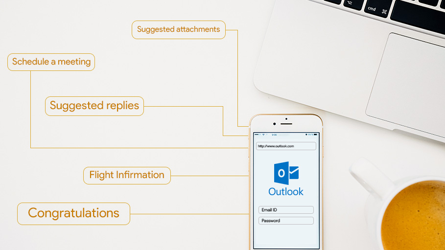 Use Intelligent Technology in Outlook on the Web