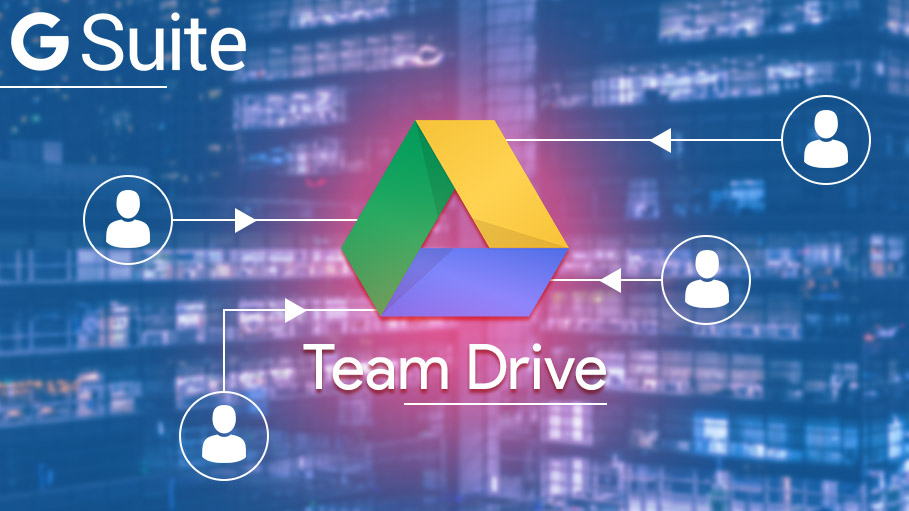 Power of Team Drive in G Suite Enterprise, Business or Education Versions