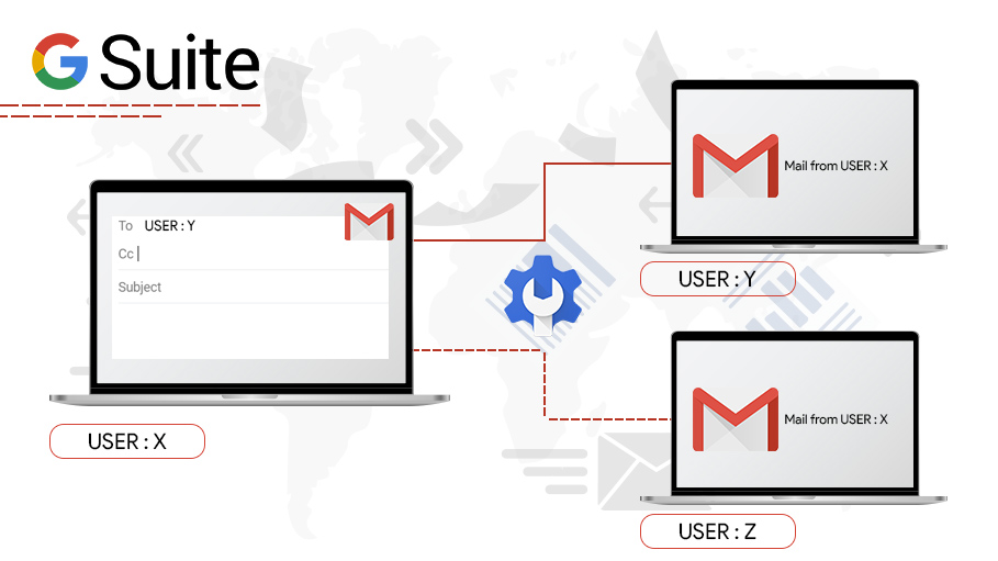 Route your Emails in G Suite with Default Routing