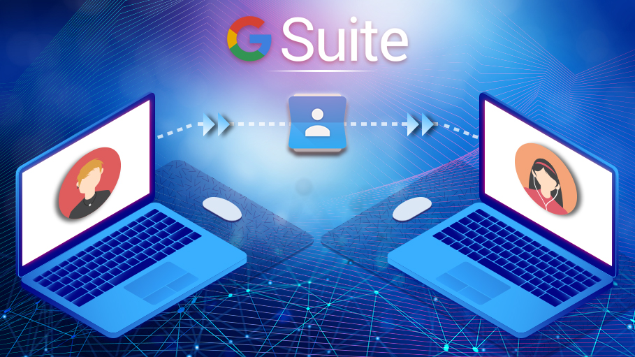 Contact Delegation in G-Suite
