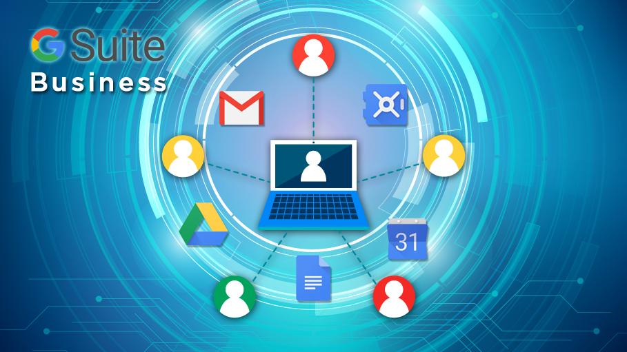G Suite Business Enables Cloud Archiving of Enterprise Data