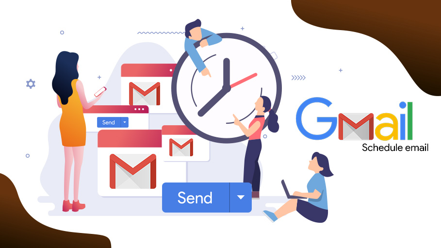 Scheduling of Sending Emails in Gmail