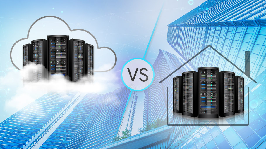 What Should Your Business Opt for - On-Premise Server or Cloud Infrastructure?