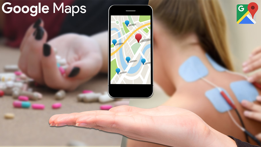 Google Adds Map Locator Tools to Help Drug Addicts Find Rehabilitation Centers