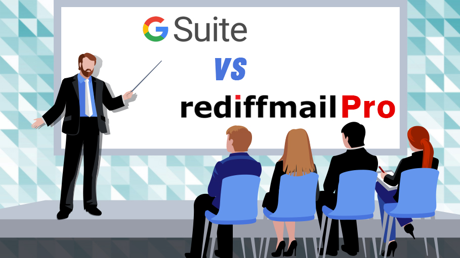 G Suite VS RediffmailPro as a Mailing Solution