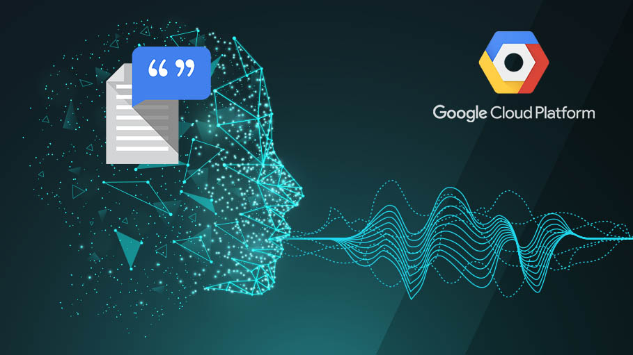 Text-to-Speech Conversion Powered by Machine Learning on Google Cloud Platform