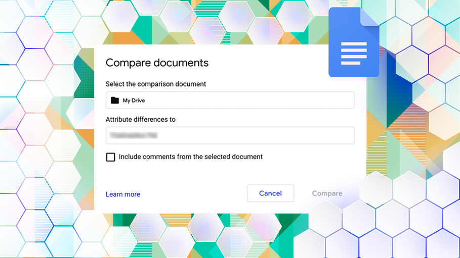 Compare Documents in Google Doc