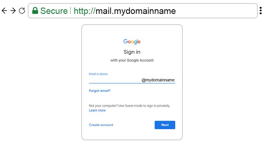 Custom URL Setup with G Suite Admin