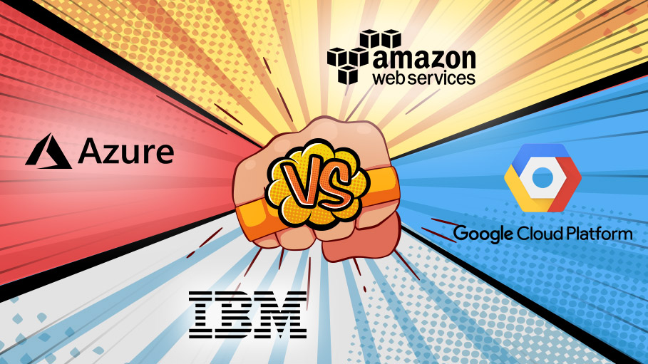Titans of the Cloud Computing War- AWS, Azure, GCP