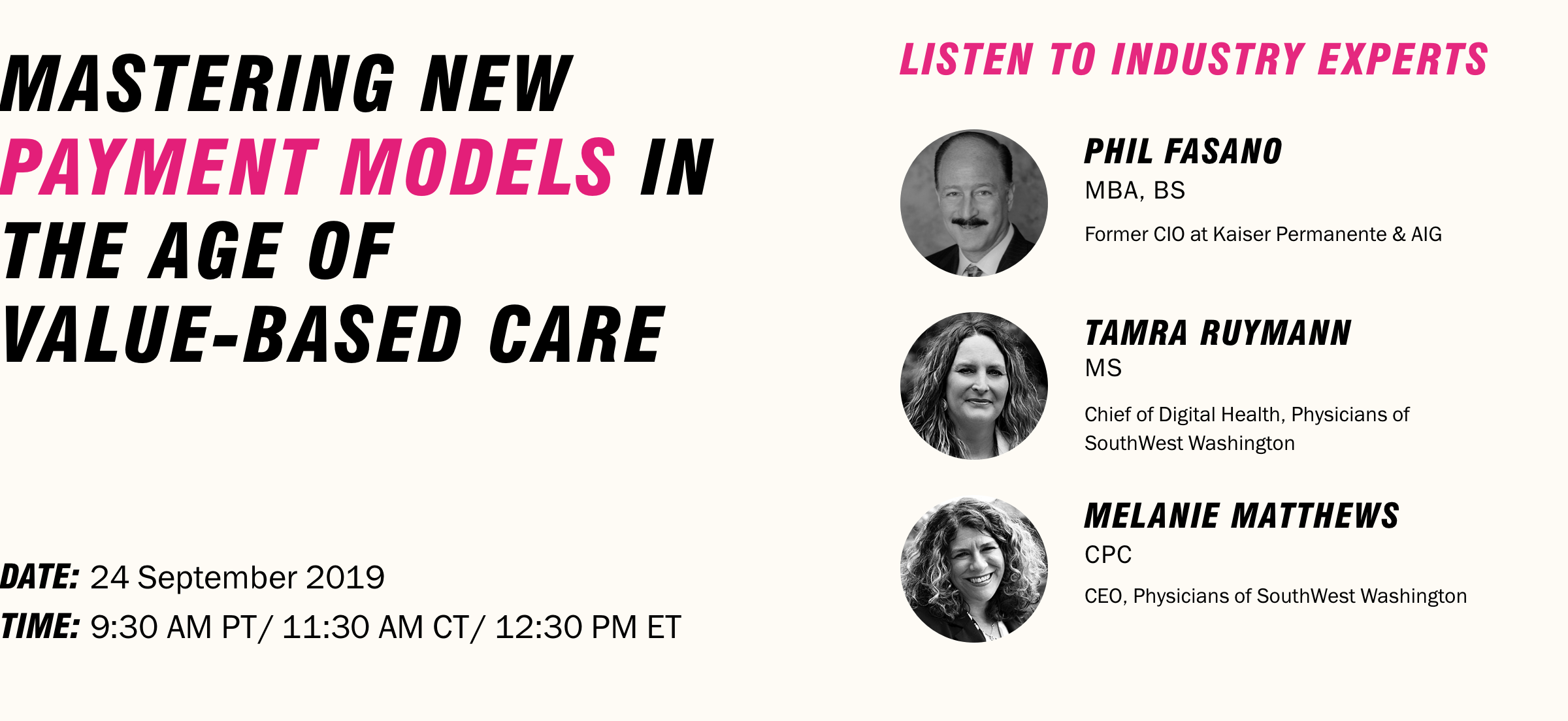 Mastering New Payment Models in the Age of Value-Based Care