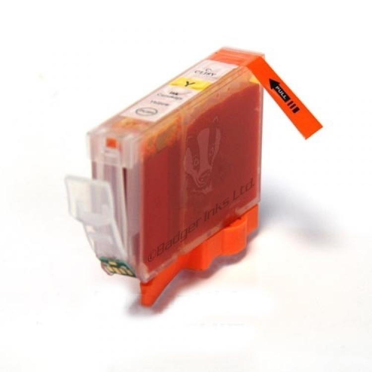 Cartouche compatible CANON CLI-526Y jaune