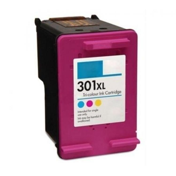 Cartouche compatible HP 301 XL couleur