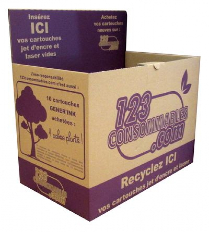 BOX Collecte Toner, 123CONSO