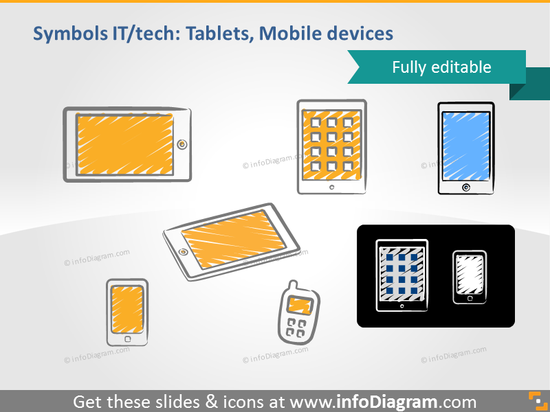 scribble tablet ipad mini mobile doodle clipart