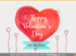 Happy Valentines Day Sketch PowerPoint clipart