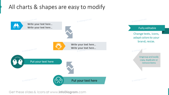 Modify all diagram shapes