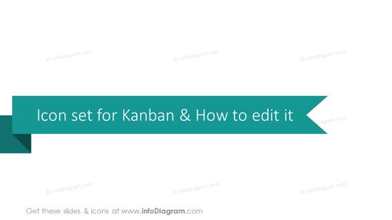 Kanban icons set