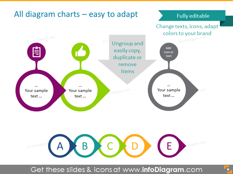 All diagram charts - easy to adapt