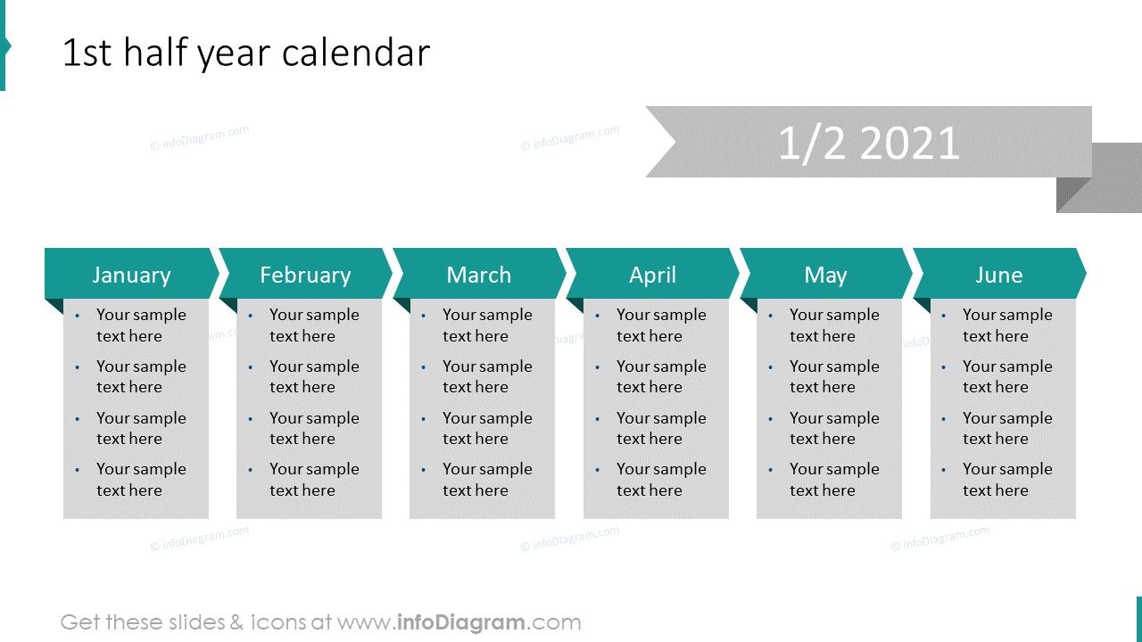 1st Half Year 2020 EU Calendar
