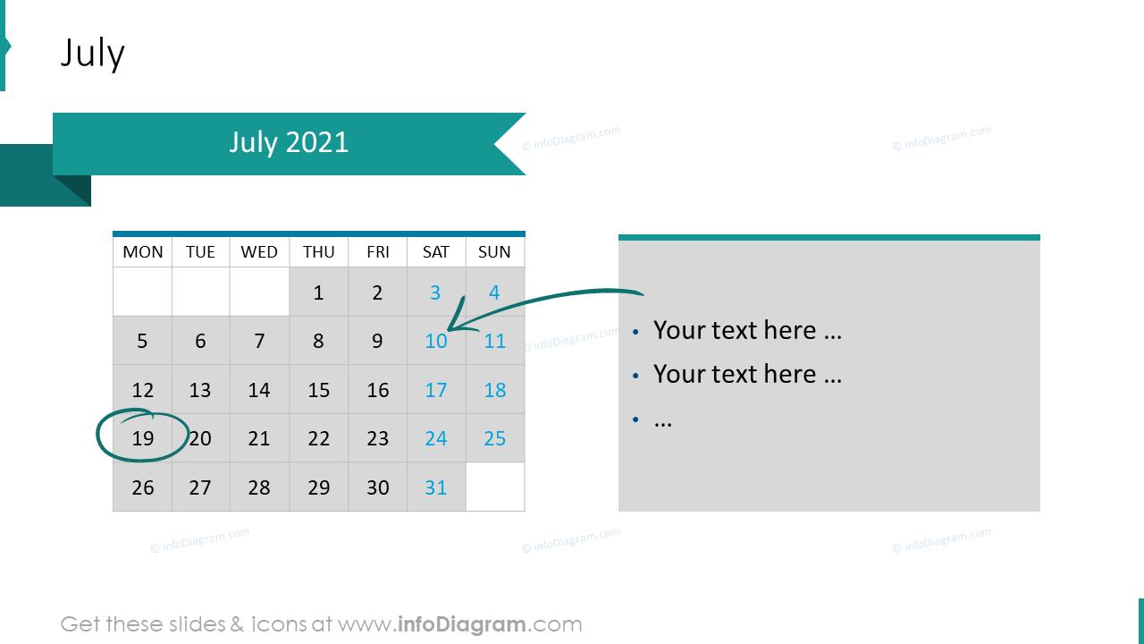 July 2020 EU Calendars