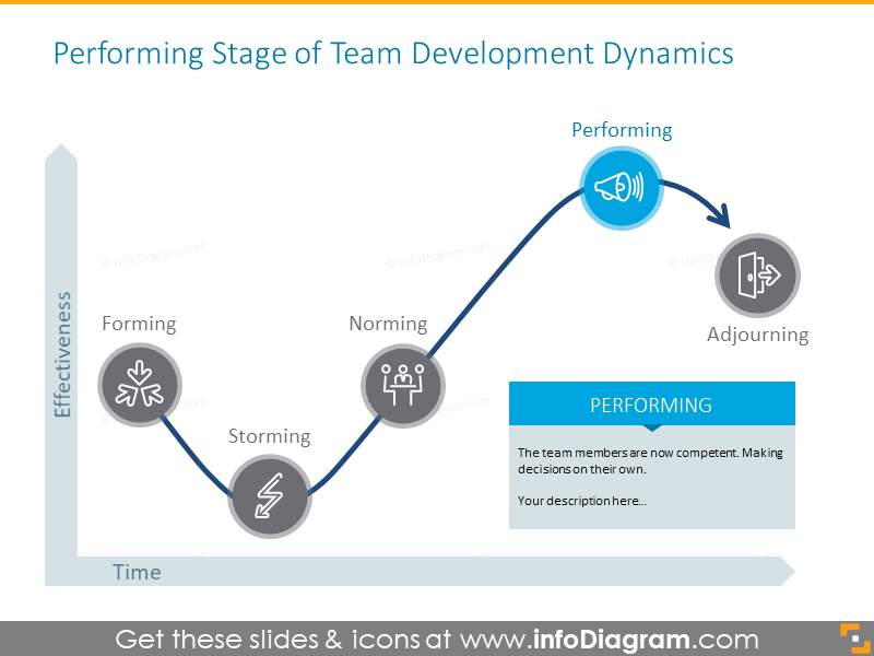 Performing stage of team development dynamics