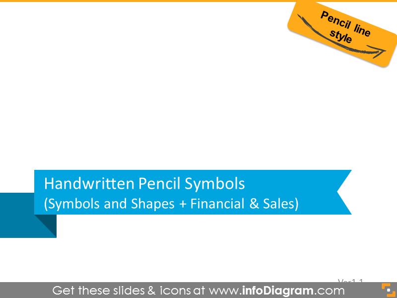 All Handwrittten Symbols pencil line 111