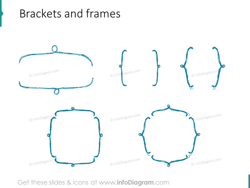 sketched-brackets-frames-pencil-for-infographics-ppt