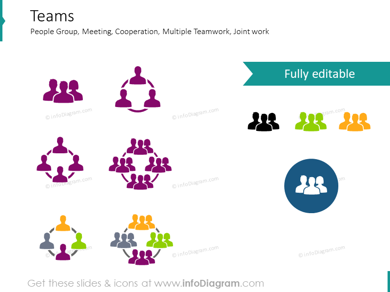 Teamwork Pictograms