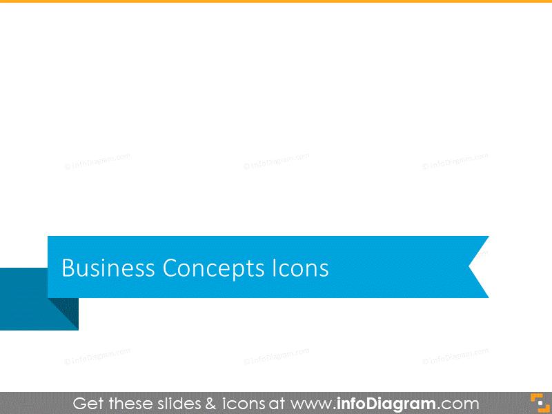 Business concept section slide