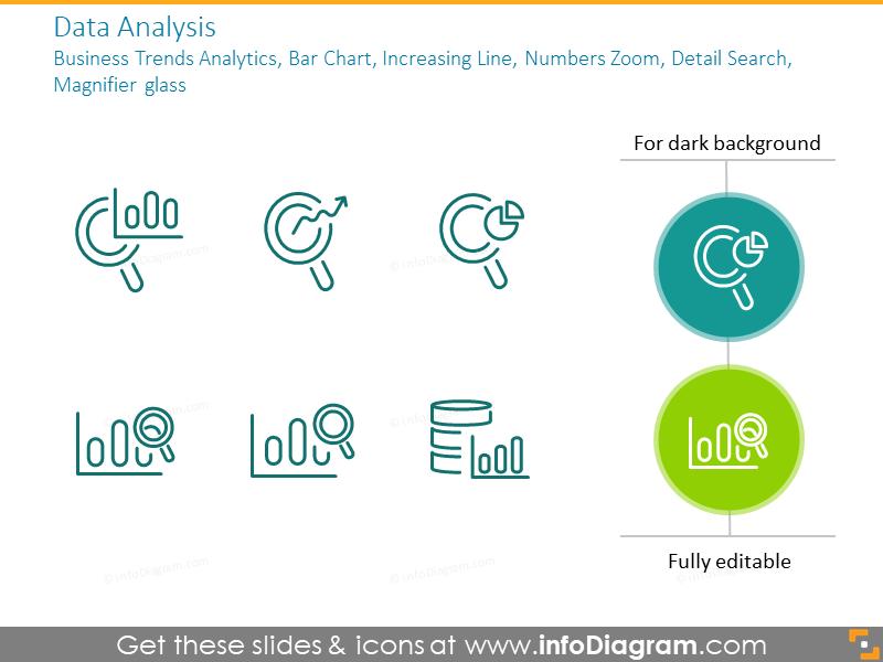 Data analysisbusiness trends analytics, bar chart