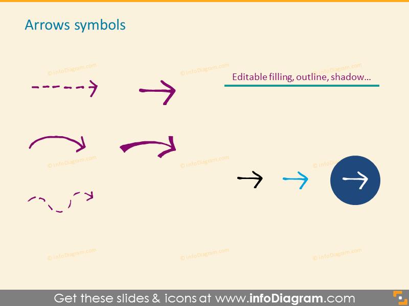 Arrows symbols