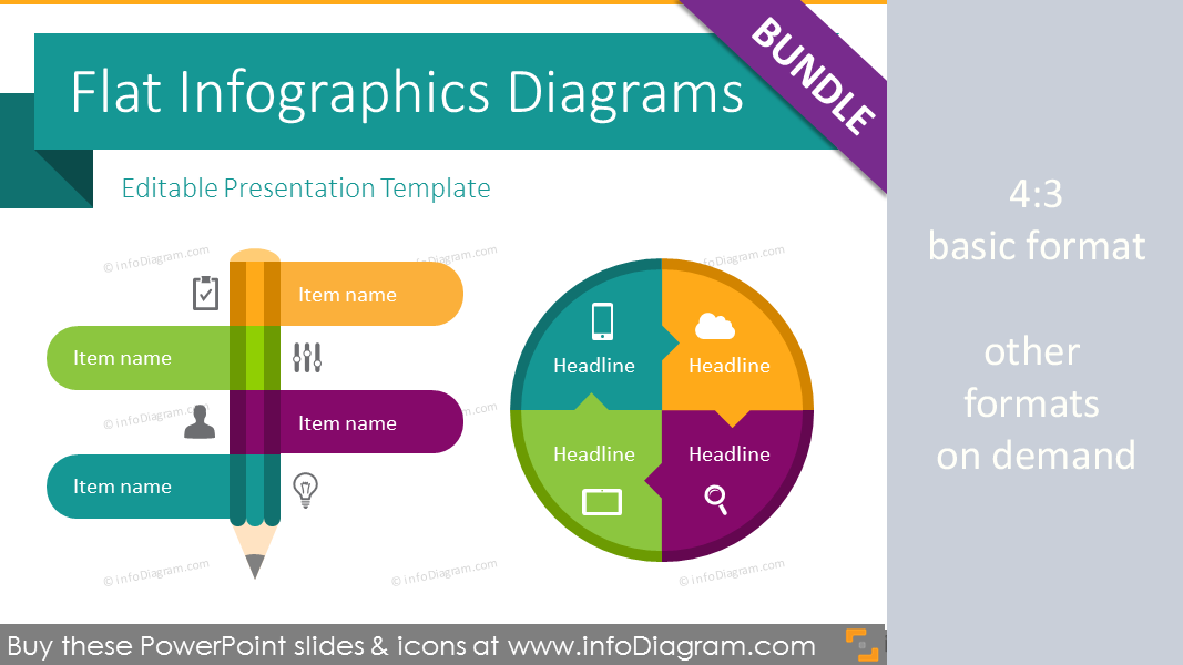 210 modern flat infographic powerpoint templates ppt editable flat infographic templates design bundle ppt diagrams and icons toneelgroepblik Gallery