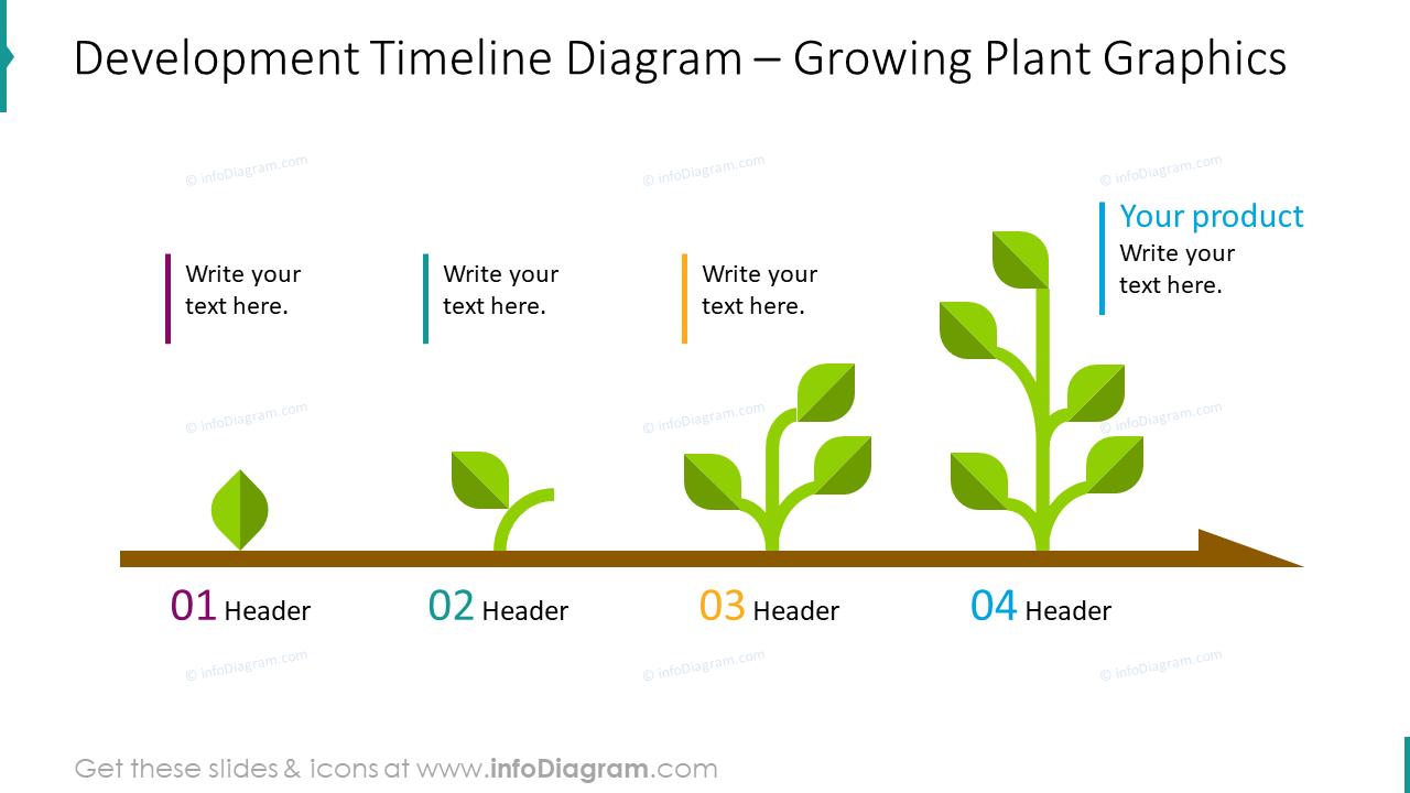 Development timeline diagram