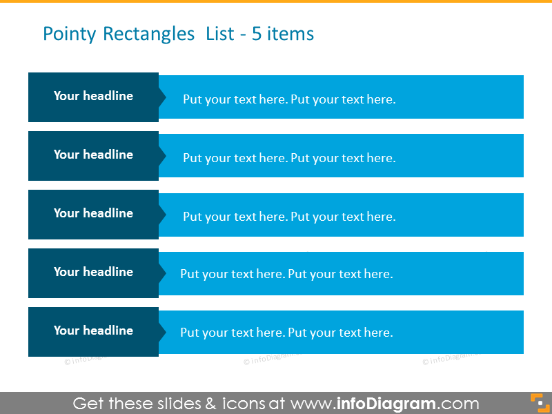 rectangle design drawing - 5 steps list