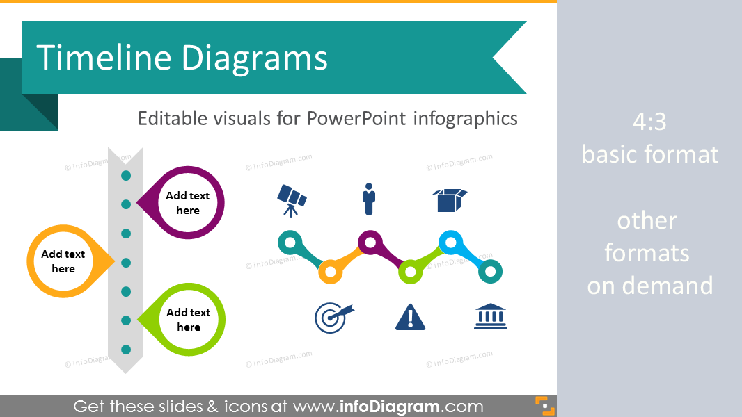 Modern Timeline Diagram Infographic Template PowerPoint - Timeline template for powerpoint