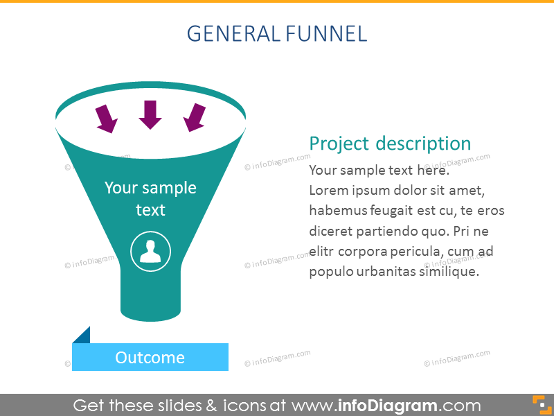 Infographics Funnel Diagram Pipeline Charts