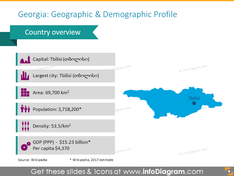 Georgia Geographic and Demographic Profile